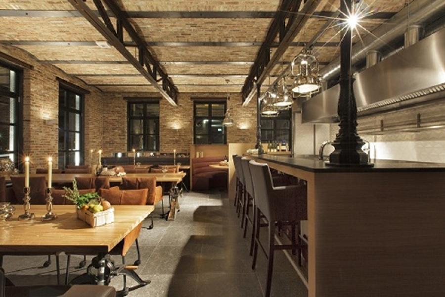 Eetcaf veem roermond arnie van dun interieur design - Interieur eclectique grove design ...